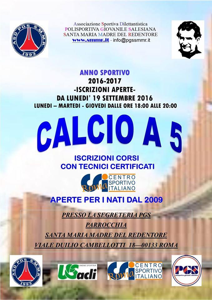 locandina_iscrizioni_calcio_a_5_2016-2017