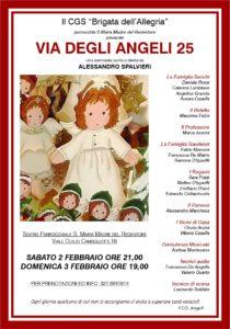 """C.G.S. """"Brigata dell'Allegria"""" presenta: """"Via degli Angeli 25"""""""