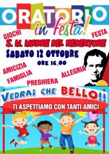 Oratorio in festa 2019 @ Oratorio Parrocchia Santa Maria Madre del Redentore | Roma | Lazio | Italia