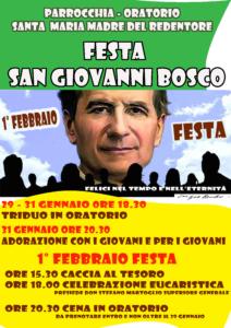 Festa San Giovanni Bosco 2020